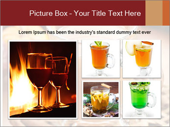 Glass of apple cider PowerPoint Template - Slide 19