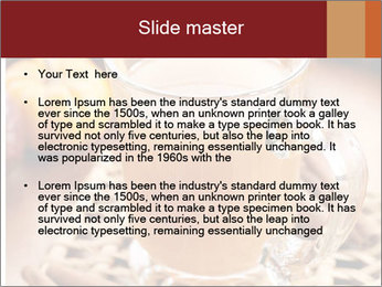 Glass of apple cider PowerPoint Template - Slide 2