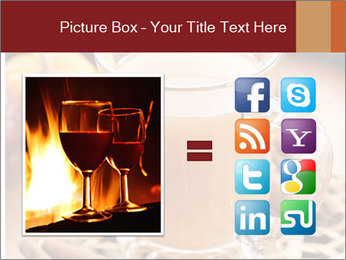 Glass of apple cider PowerPoint Template - Slide 21