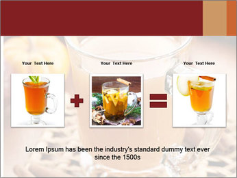 Glass of apple cider PowerPoint Template - Slide 22
