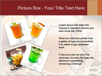 Glass of apple cider PowerPoint Template - Slide 23