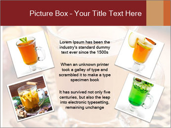 Glass of apple cider PowerPoint Template - Slide 24