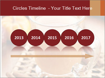 Glass of apple cider PowerPoint Template - Slide 29