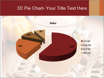 Glass of apple cider PowerPoint Template - Slide 35