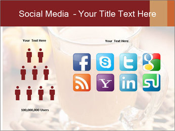 Glass of apple cider PowerPoint Template - Slide 5