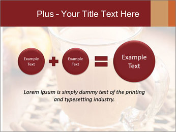 Glass of apple cider PowerPoint Template - Slide 75