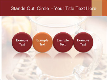Glass of apple cider PowerPoint Template - Slide 76