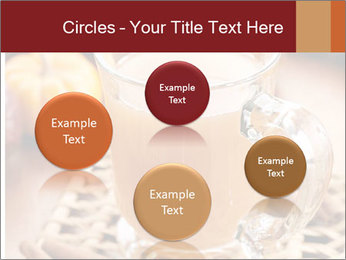 Glass of apple cider PowerPoint Template - Slide 77