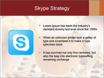 Glass of apple cider PowerPoint Template - Slide 8