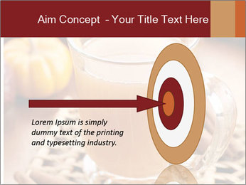 Glass of apple cider PowerPoint Template - Slide 83