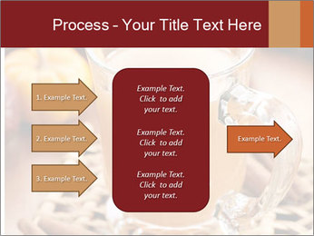 Glass of apple cider PowerPoint Template - Slide 85