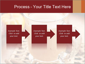 Glass of apple cider PowerPoint Template - Slide 88