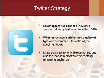 Glass of apple cider PowerPoint Template - Slide 9
