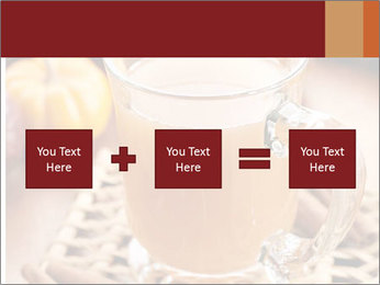 Glass of apple cider PowerPoint Template - Slide 95