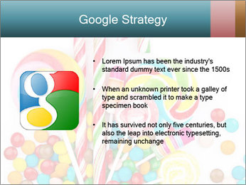 Colorful candy PowerPoint Template - Slide 10