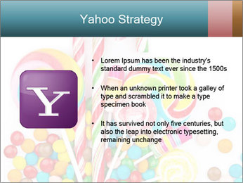 Colorful candy PowerPoint Template - Slide 11