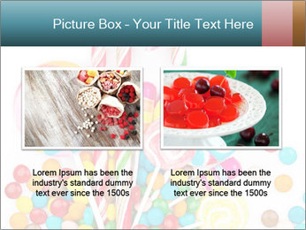 Colorful candy PowerPoint Template - Slide 18