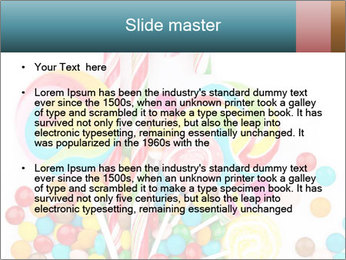 Colorful candy PowerPoint Template - Slide 2