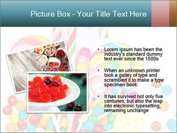 Colorful candy PowerPoint Template - Slide 20