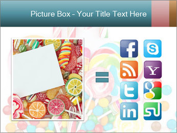 Colorful candy PowerPoint Template - Slide 21