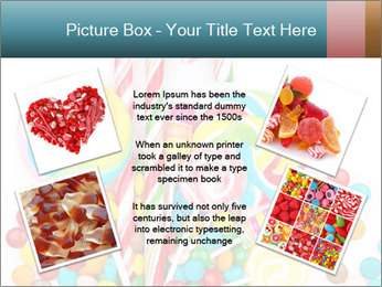 Colorful candy PowerPoint Template - Slide 24