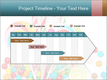 Colorful candy PowerPoint Template - Slide 25