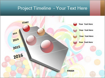 Colorful candy PowerPoint Template - Slide 26