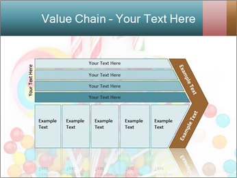 Colorful candy PowerPoint Templates - Slide 27