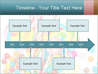 Colorful candy PowerPoint Template - Slide 28