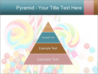 Colorful candy PowerPoint Template - Slide 30