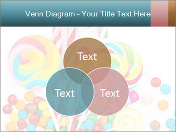 Colorful candy PowerPoint Template - Slide 33