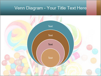Colorful candy PowerPoint Template - Slide 34