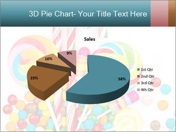 Colorful candy PowerPoint Template - Slide 35