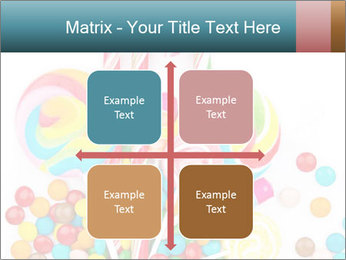Colorful candy PowerPoint Template - Slide 37