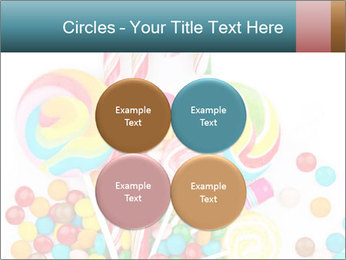 Colorful candy PowerPoint Template - Slide 38