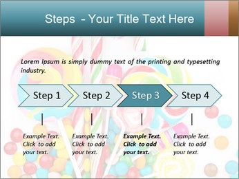 Colorful candy PowerPoint Template - Slide 4