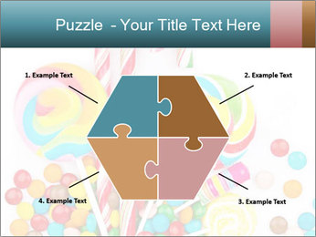 Colorful candy PowerPoint Templates - Slide 40