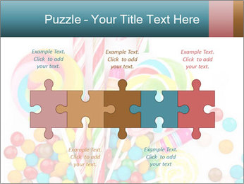 Colorful candy PowerPoint Template - Slide 41