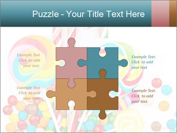 Colorful candy PowerPoint Templates - Slide 43