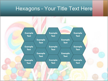 Colorful candy PowerPoint Templates - Slide 44