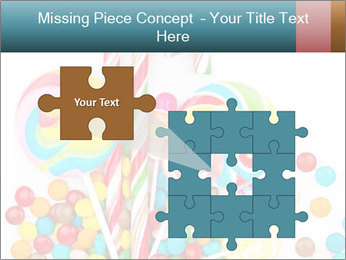 Colorful candy PowerPoint Template - Slide 45