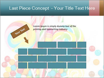 Colorful candy PowerPoint Templates - Slide 46