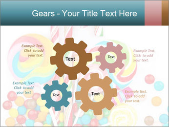 Colorful candy PowerPoint Templates - Slide 47
