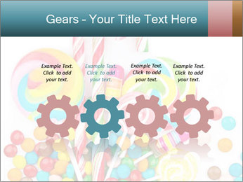 Colorful candy PowerPoint Templates - Slide 48