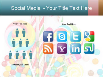 Colorful candy PowerPoint Template - Slide 5