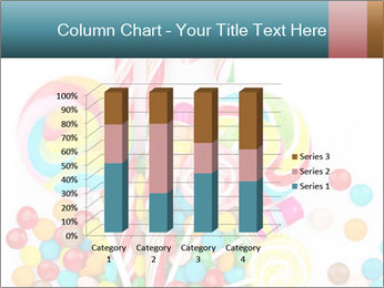 Colorful candy PowerPoint Template - Slide 50