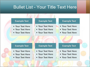 Colorful candy PowerPoint Templates - Slide 56