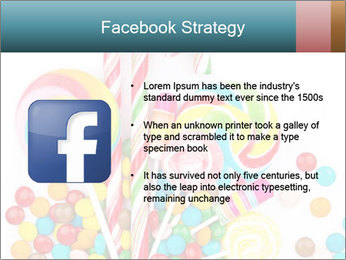 Colorful candy PowerPoint Template - Slide 6