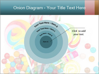 Colorful candy PowerPoint Templates - Slide 61