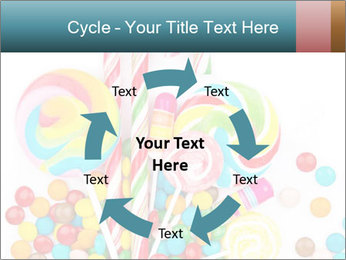 Colorful candy PowerPoint Templates - Slide 62